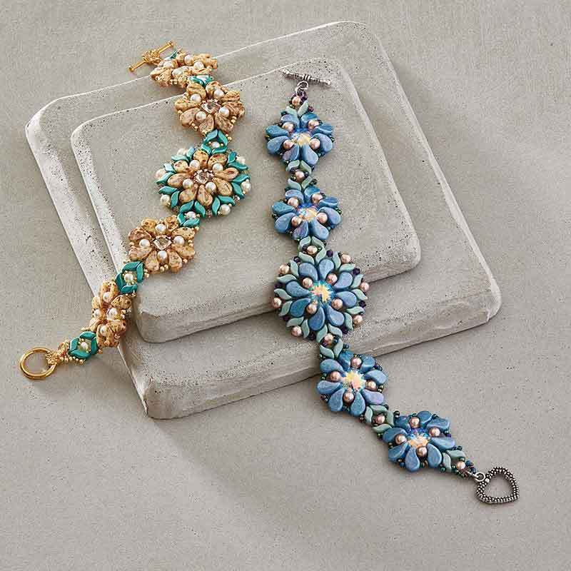 shaped beads: Paisley Storm Bracelet by Designer of the Year, Susan Sassoon