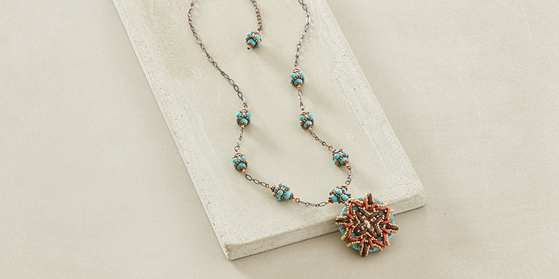 Southwestern Colors and Beaded Beads Are Hot!