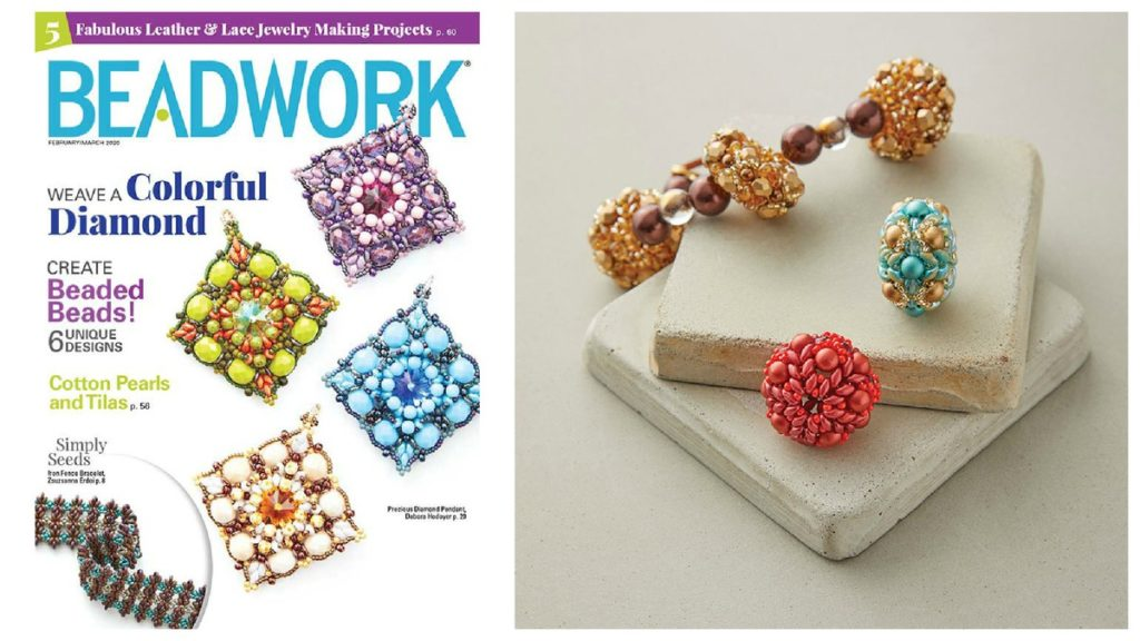 <i>Beadwork</i> February/March 2020: Beautiful Beaded Beads
