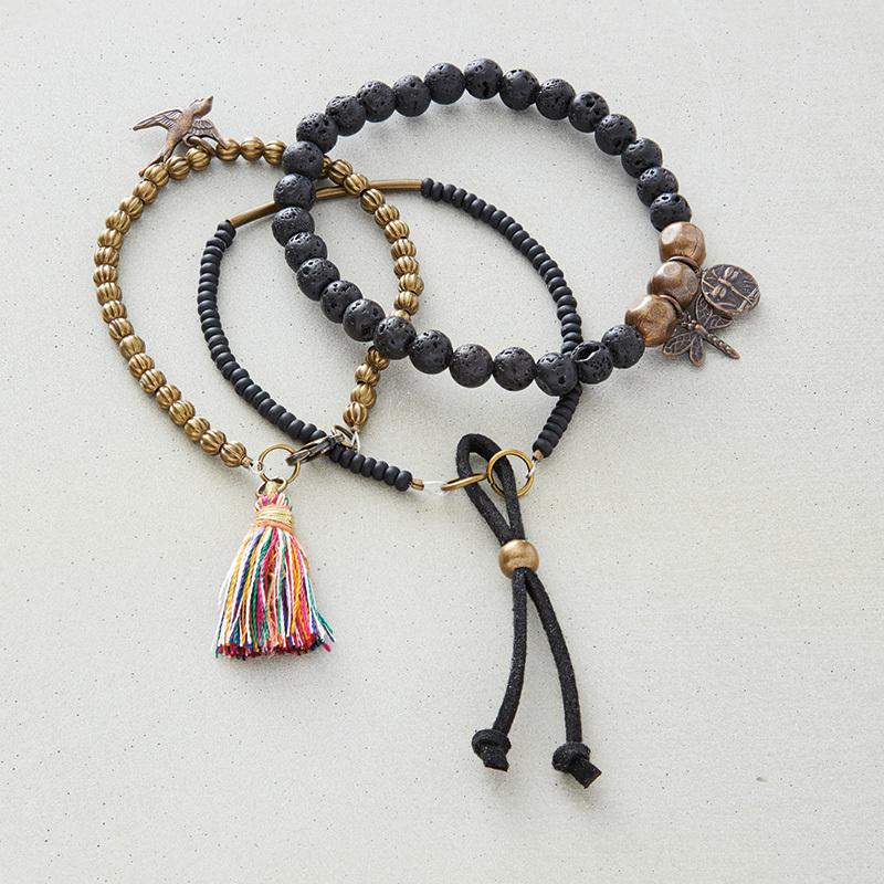 lava beads jewelry