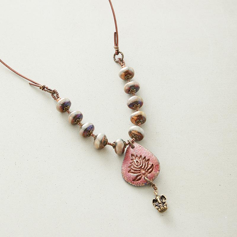 lotus flower jewelry