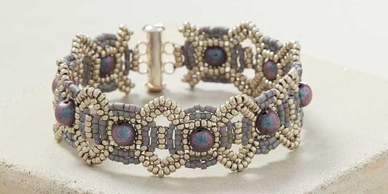How to Make a Celestial-Inspired Beaded Bracelet
