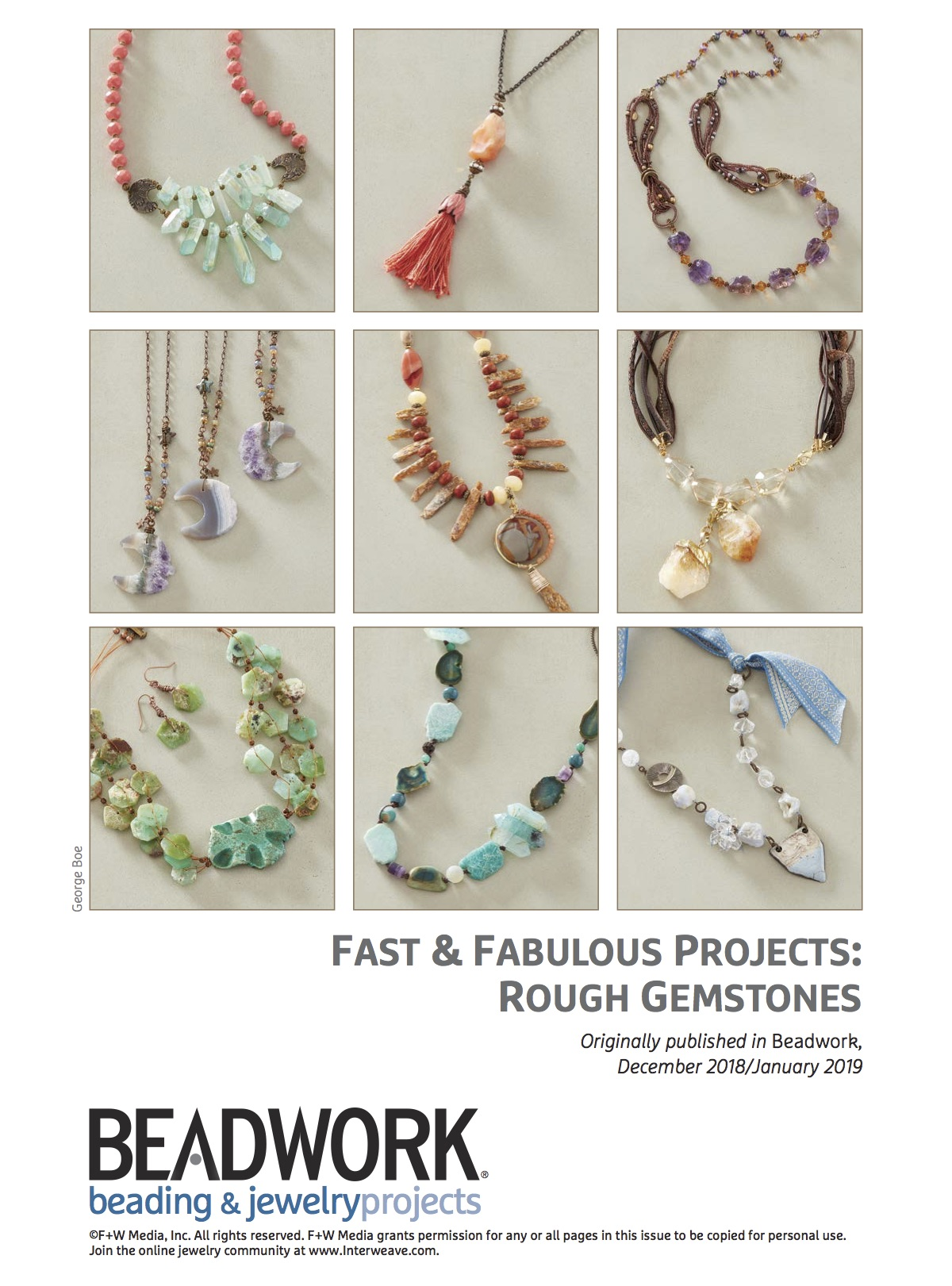 Fast & Fabulous Rough Gemstones Pattern Pack