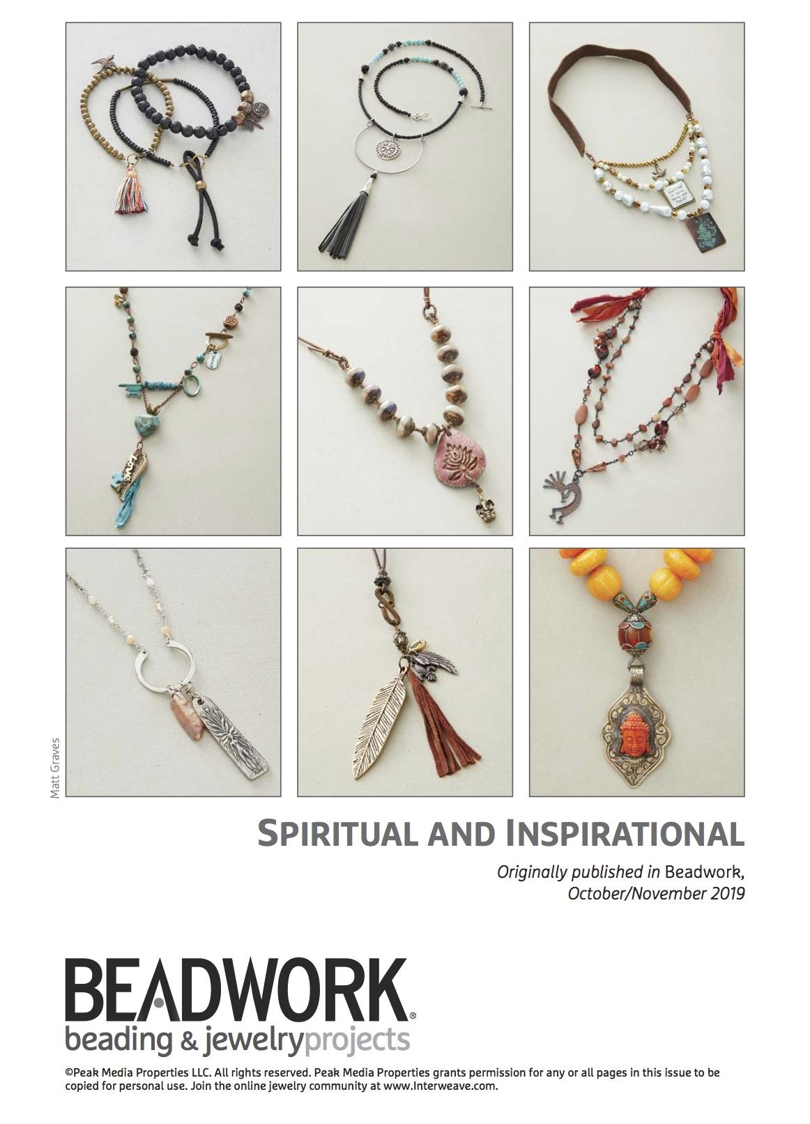 Fast & Fabulous Spiritual & Inspirational Pattern Pack mindfulness jewelry