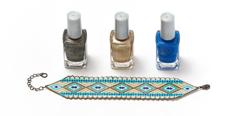 Beadwork, Bead Weaving, Beading Kits and Nail Polish?