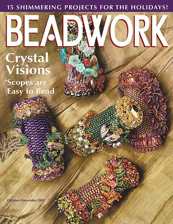 Angle Beaded Ornaments, Handmade beaded ornaments, Beadwork magazine