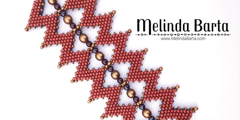 <em>Beadwork</em> Designer Melinda Barta Likes to Take Her Bead Studio on the Road