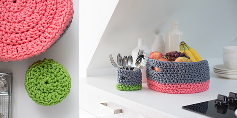 5 Ways to Decorate with this Crochet Basket Pattern