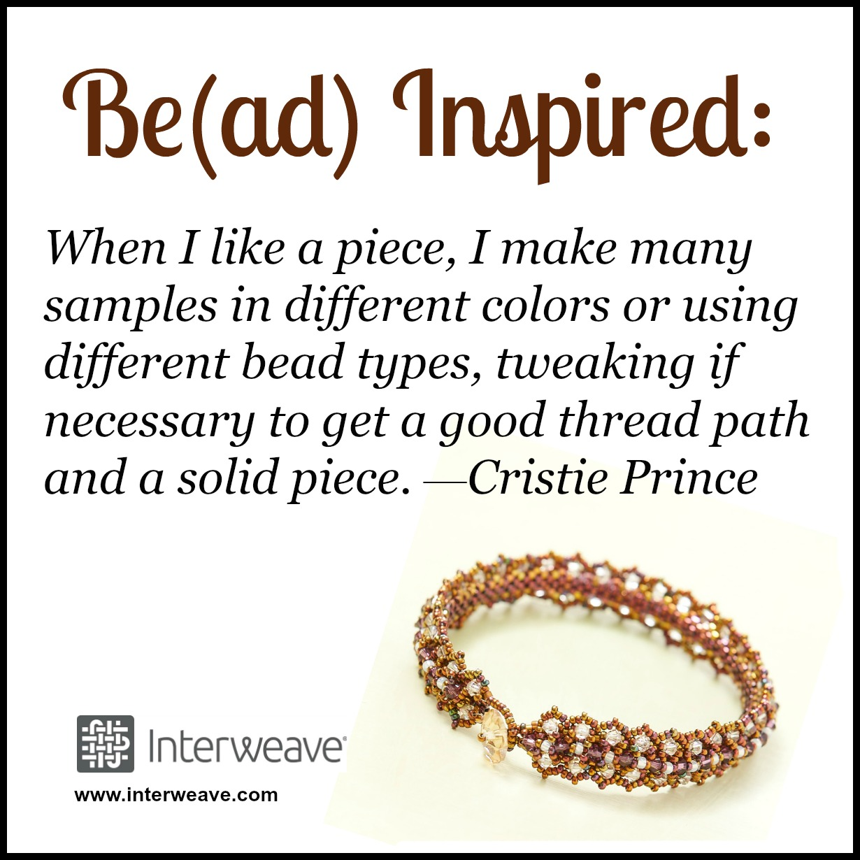 Bead inspired