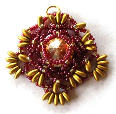Beaded-Mandala-Netting-Stit