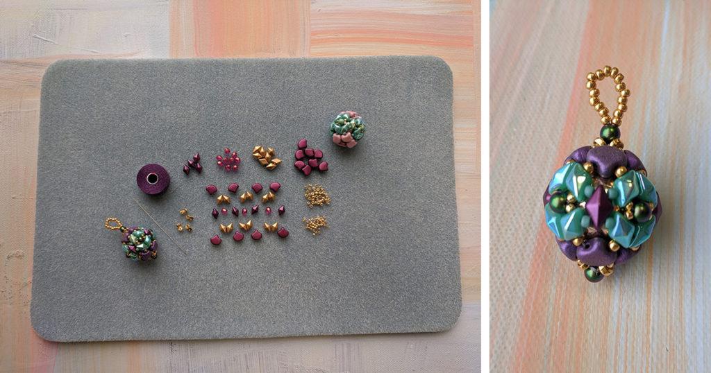 how to make beaded beads