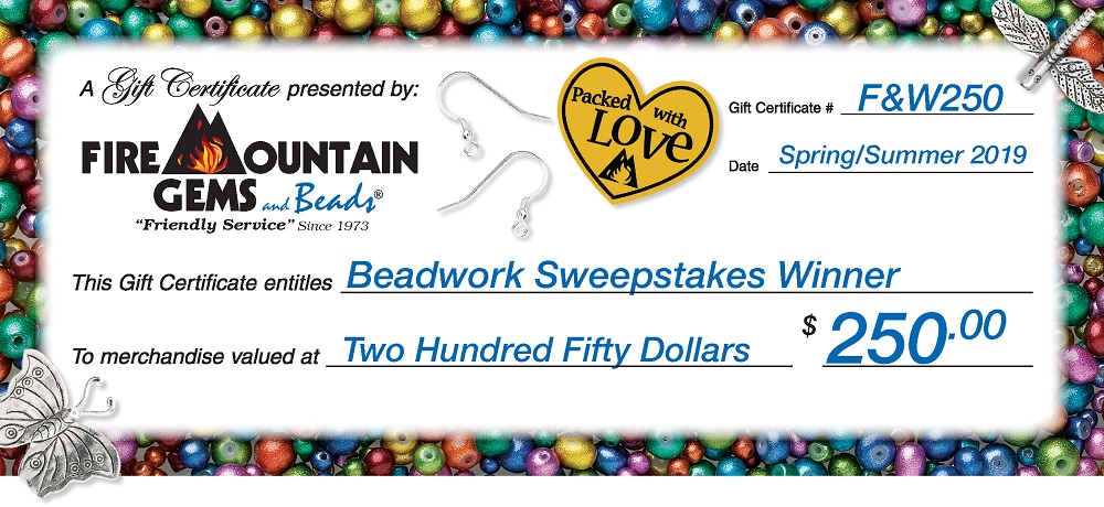 Enter for a Chance to Win from Fire Mountain Gems and Beads