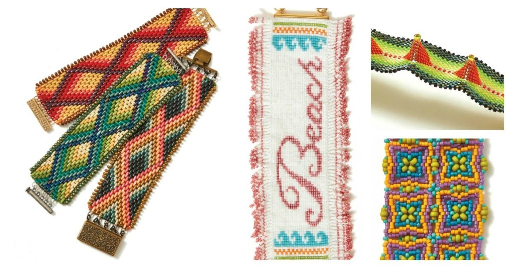 Beadwork jewelry designs