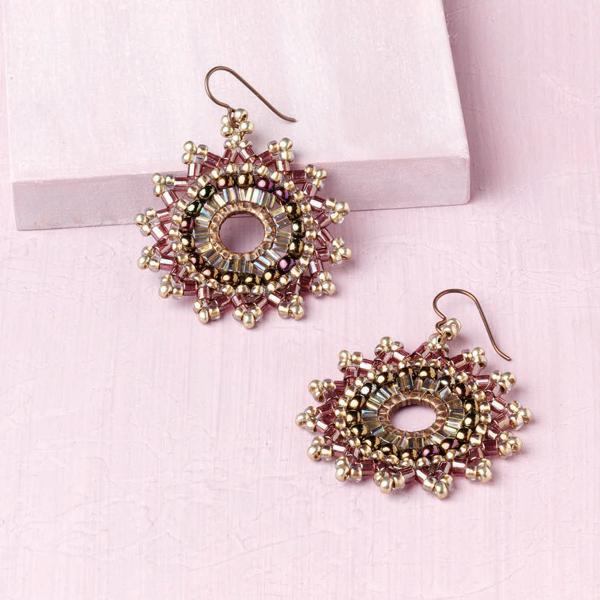 Desert Thistle Earrings