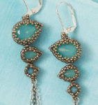 These Hubble Stitch Snowflake Earrings Are Perfect for the Holidays