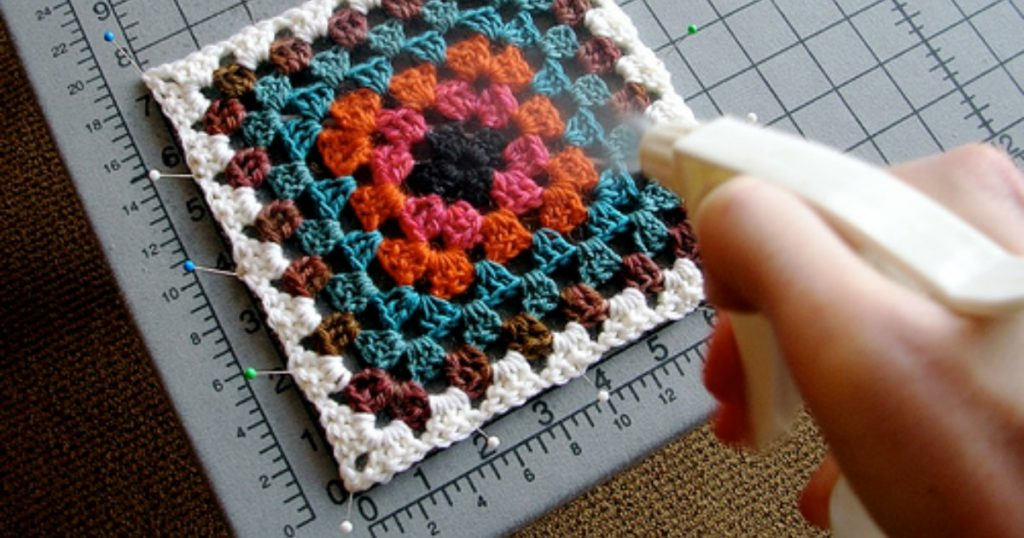 The Perfect Finish: How to Block Crochet