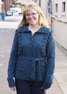 Knitting Gallery - Blooming Cardigan Toni