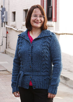 Knitting Gallery - Blooming Cardigan Sandi