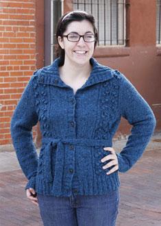Knitting Gallery - Blooming Cardigan Stefanie