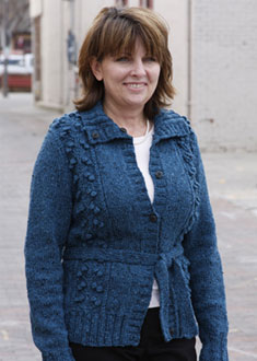 Knitting Gallery - Blooming Cardigan Bonnie