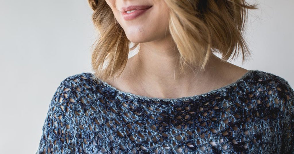 Pattern of the Week: Blue-on-Blue Sweater