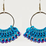 Faux Plique-à-Jour Enamel: Make Colorful Earrings Using Resin and Glitter