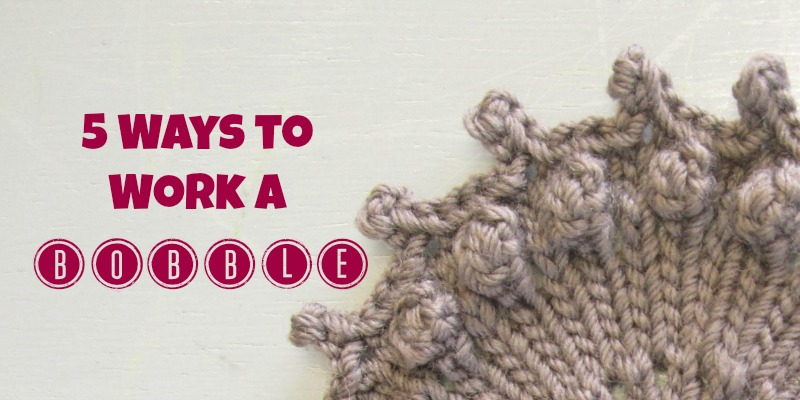 5 Ways to Work a Bobble  7393589661