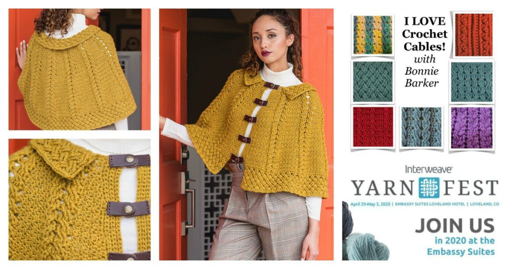 Yarn Fest 2020: Crochet Cables with Bonnie Barker