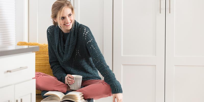 POW: Bookworm Sweater & Cowl Set