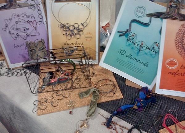 Brenda Schweder wire jewelry jig