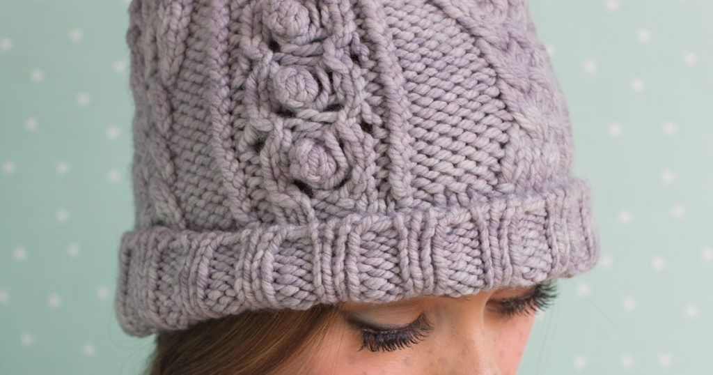 <em>knitscene</em> Winter 2018: Bricktown Hat