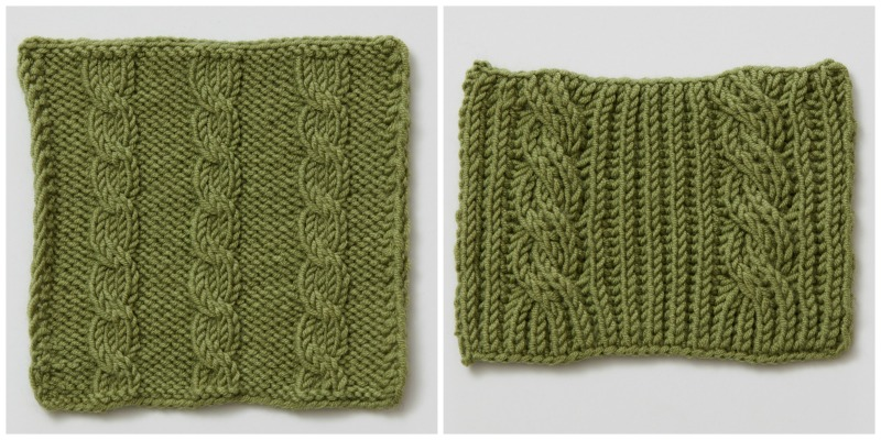 Standard vs. Brioche Cables. Which one would you rather wear?