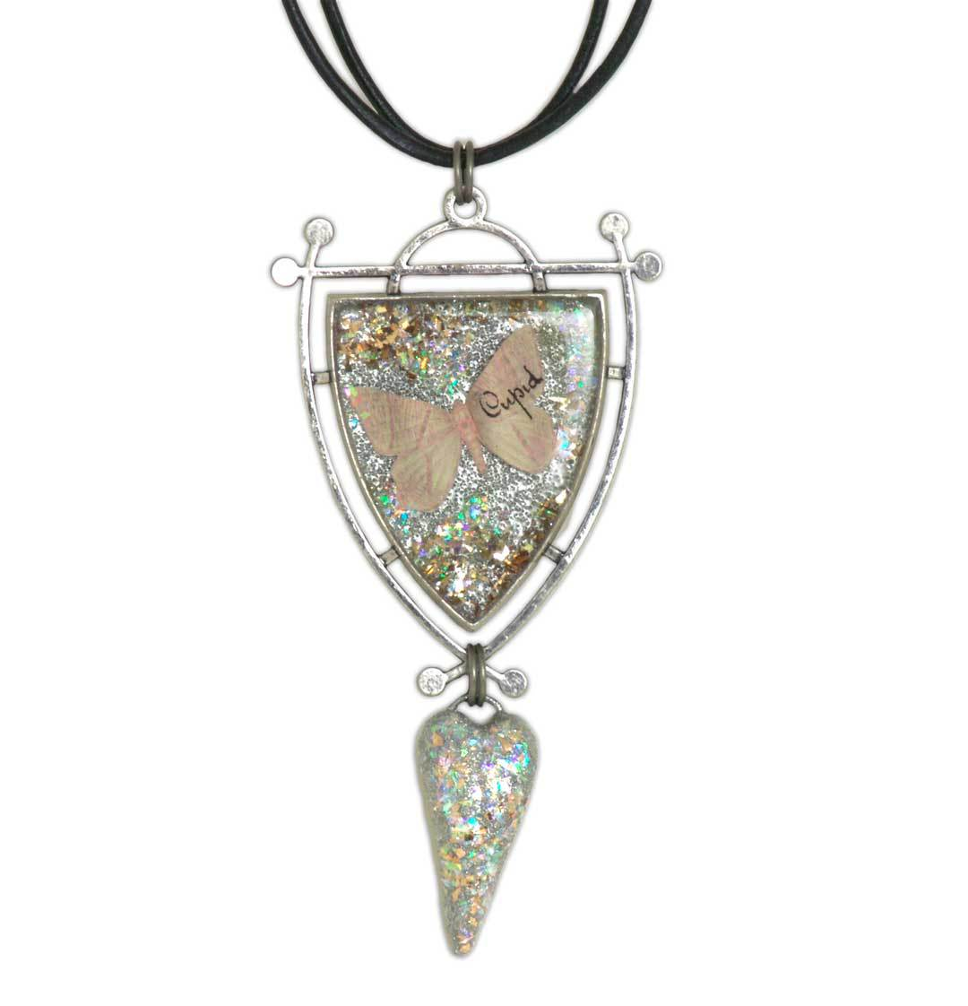 Butterfly Cupid Necklace with Debbie Tlach