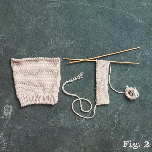 The Handknitter's Double-Knit Buttonband   Interweave