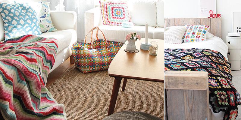 Everyday Crochet: Crochet As Home Décor