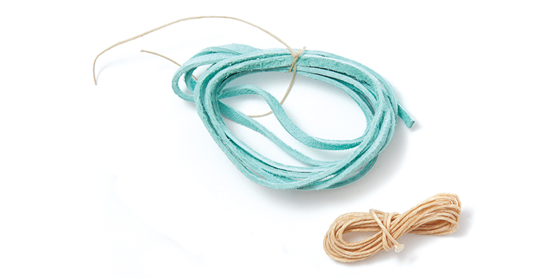 Eighteen colors of 7-ply linen, twenty-four colors of 3mm suede, and over thirty colors of .5mm metallic leather cord, there are plenty of options to choose from.