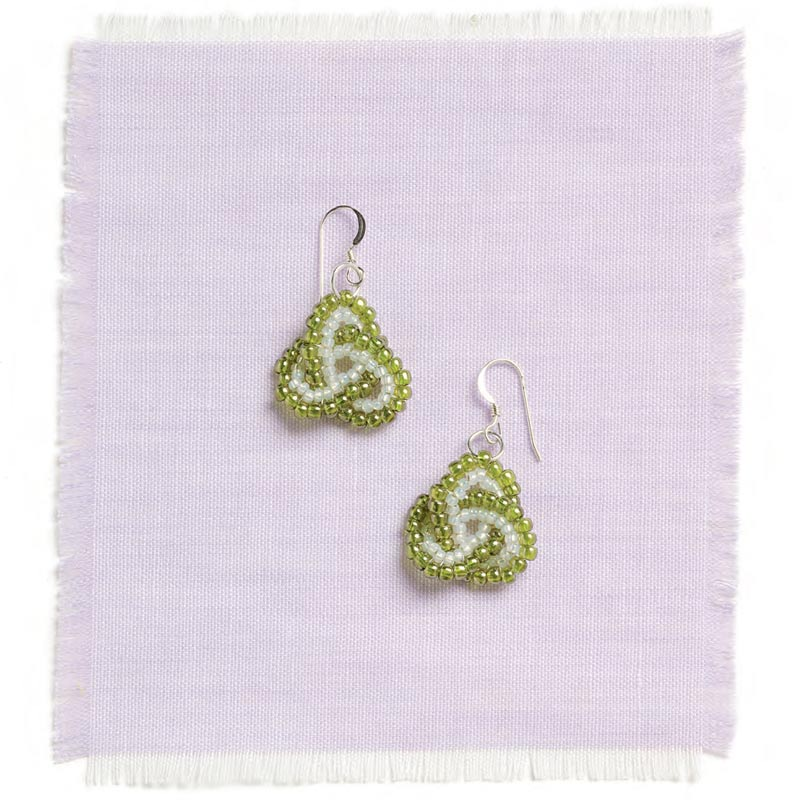 5 star pattern collection, Celtic Knot earrings beading pattern
