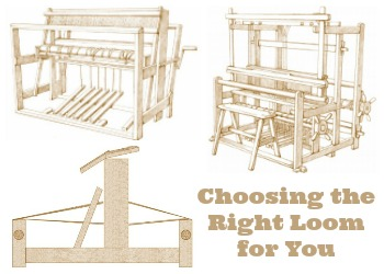 Learn about the different types of weaving looms and how to choose one as you start your weaving journey!