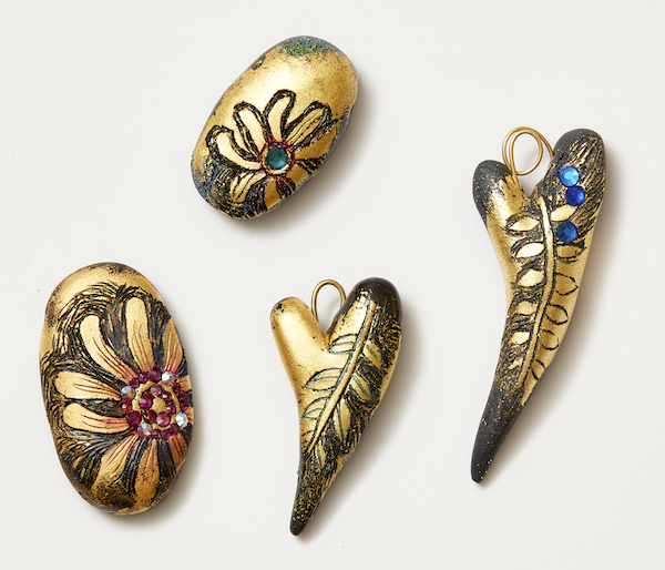 polymer clay online workshops with Christi Friesen