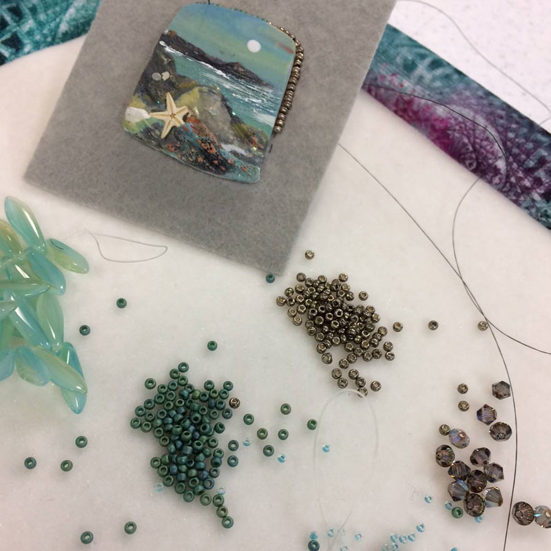 In the Beading Studio with Beadweaving Artist Jann Christiansen