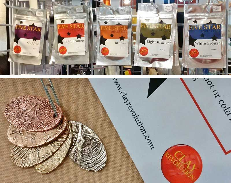 Tucson 2017 Wrap Up: New Jewelry-Making Supplies and Hot Jewelry Trends. Metal Clay