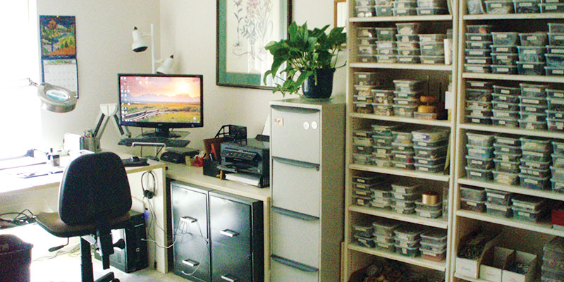 Sheilah Cleary's workspace
