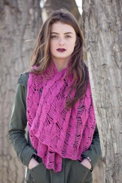 Clematis Shawl Crochet Pattern