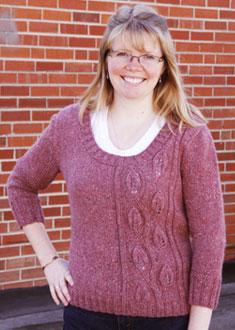 Knitting Gallery - Climbing Vines Pullover Toni