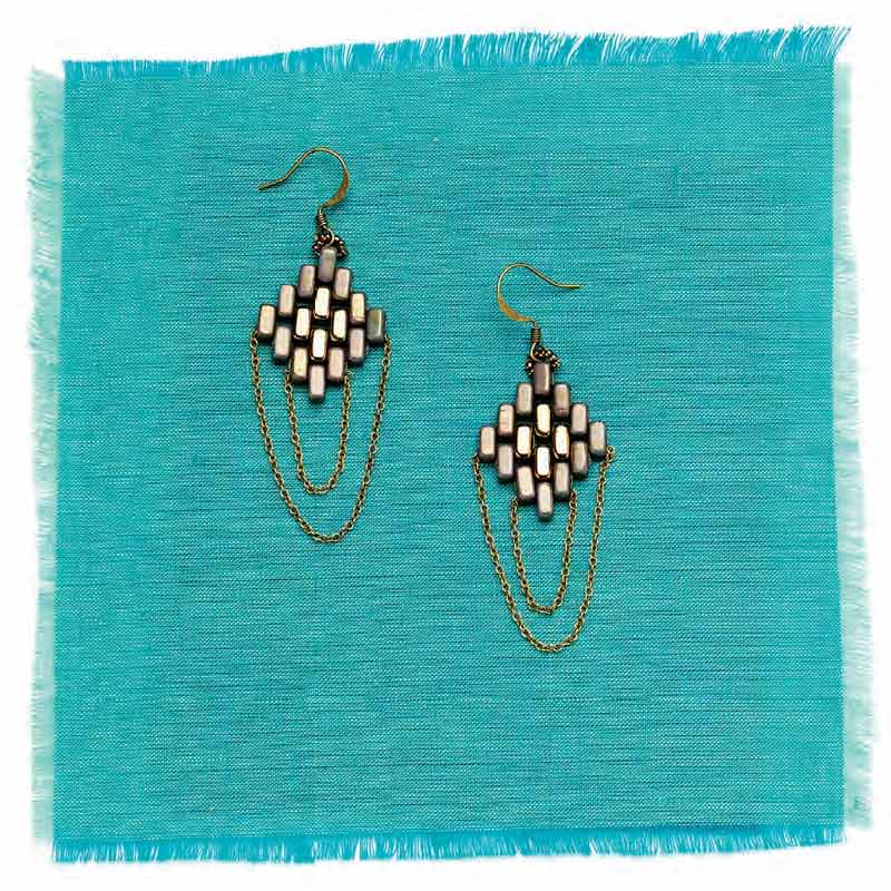 5 star pattern collection, Coachella earrings beading pattern