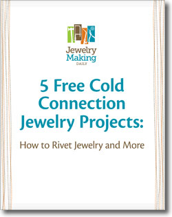 Learn everything you need to know about cold connection jewelry projects in this free ebook.