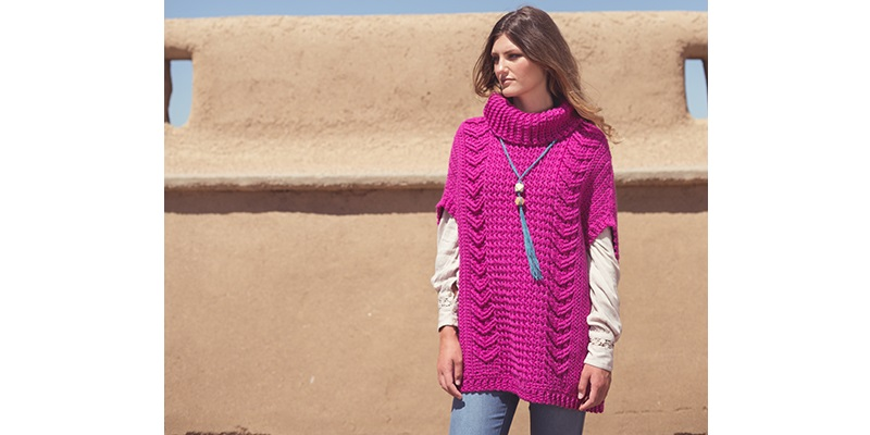 Pattern of the Week: Colorado Poncho