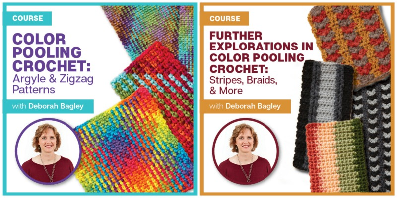 Take a crochet class at your own pace with a subscription to Interweave's yarn and fiber workshops!