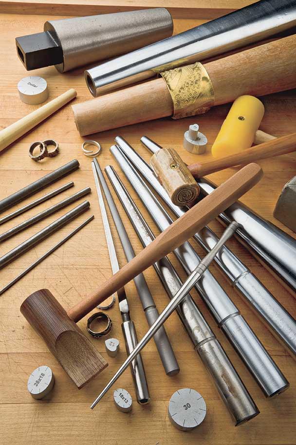 bead making NEW ROUND RING BEZEL MANDREL JEWELLERS TOOL  SHAPING Beading & Jewellery Kits