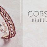 <i>Kumihimo Wirework Made Easy:</i> Corset Bracelet